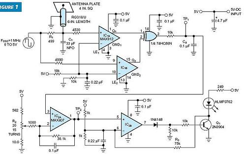Garage door opener receiving antenna for 315 MHz