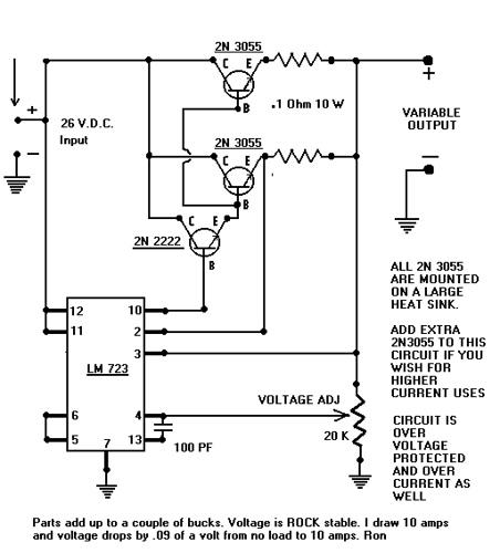 10 amp Power Supply