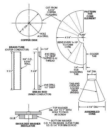 Discone VHF-UHF Antenna