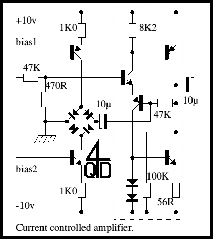 Voltage controlled amplifier