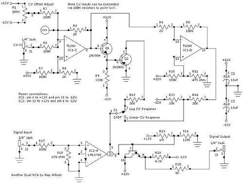 Dual Voltage Controlled Amplifier – II