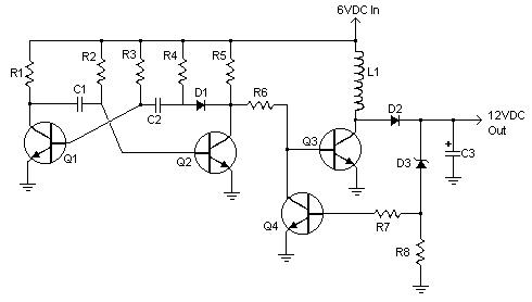 6V to 12V Converter