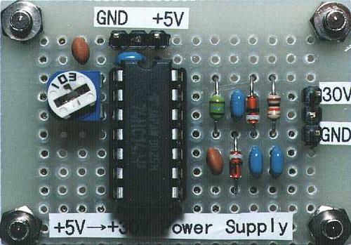 +30V power supply with +5V