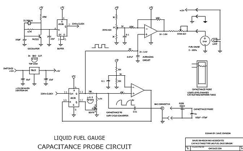 Capacitance type liquid level monitor