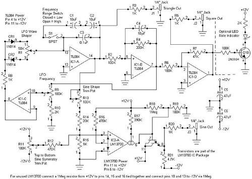 Versatile Multi-Waveform LFO