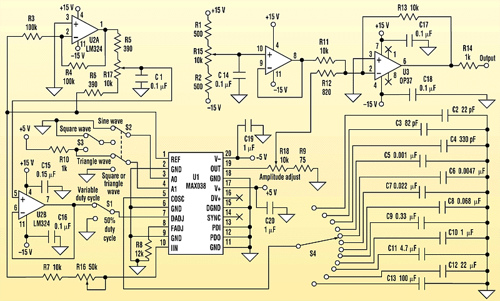 Low Cost Function Generator