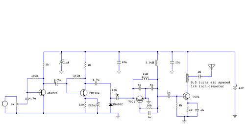 4 Transistor Transmitter