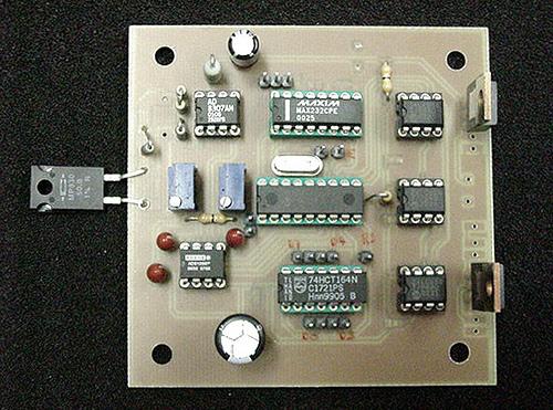 Digital Wattmeter for RF based on AD8307