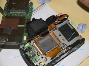 Modifying a Canon 350d/Rebel XT by removing its infrared filter