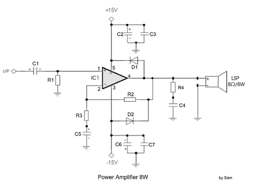 Power Amplifier 8W