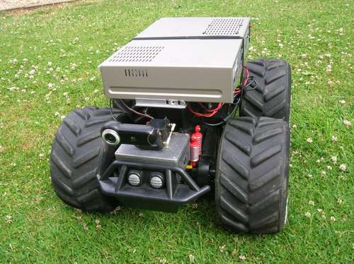 RC truck robot conversion