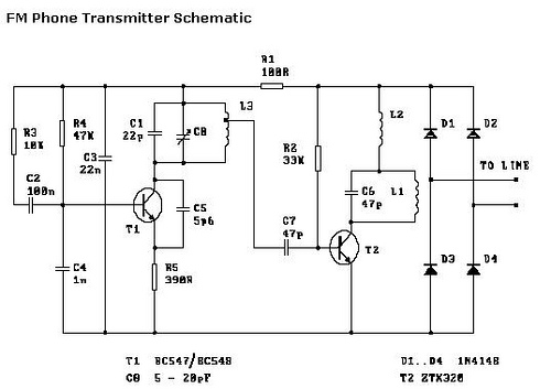 Constructing an FM Phone Transmitter