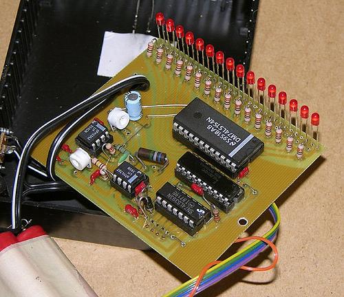 An LED Bargraph Optical Tachometer