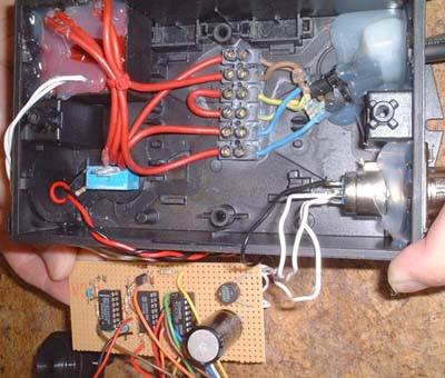 Homemade Water Drain Pump controller