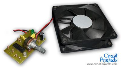 PWM Fan Controller by LM2902N or LM324N