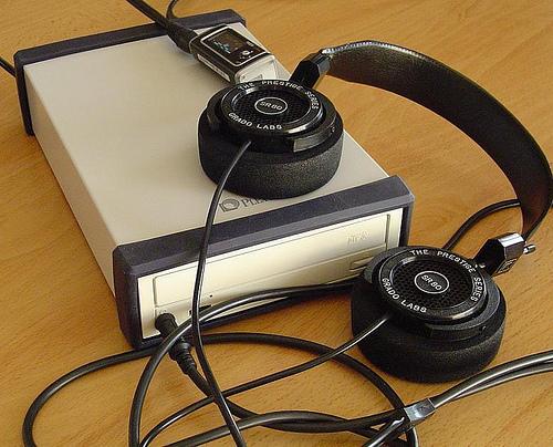 Class-A Mosfet Headphone Amplifier
