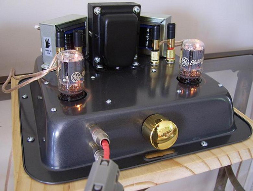DIY 6T9 Tube or  Valve Amplifier Project