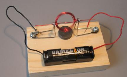 Make a simple electric motor