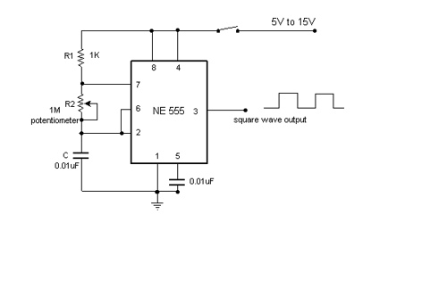 Simple variable frequency oscillator