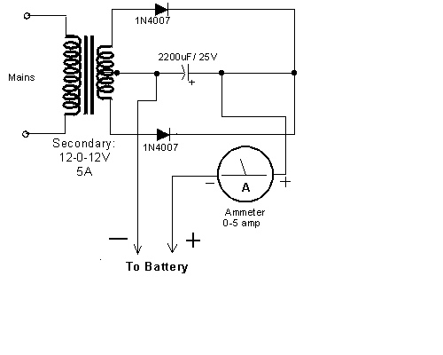 Simple Car Battery Charger