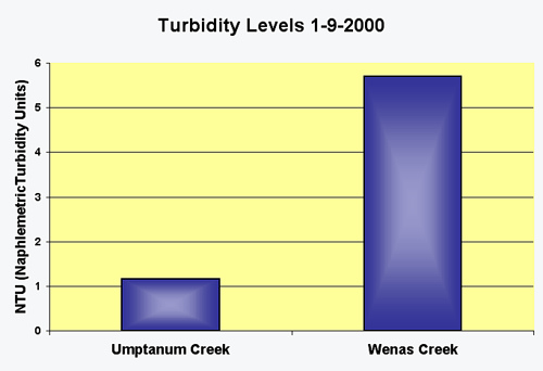 Are waters in urban areas more poluted than in rural areas?