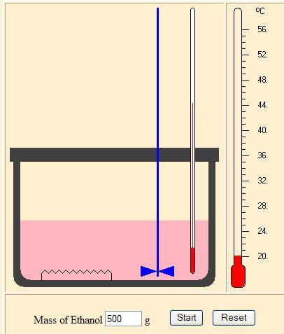 Specific Heat Capacity of Ethanol