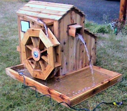 Water Turbine, Water Wheel