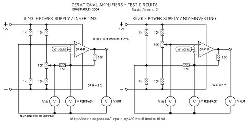 Principle Function Of Operation Amplifiers