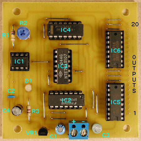 Traffic Light Control Circuit
