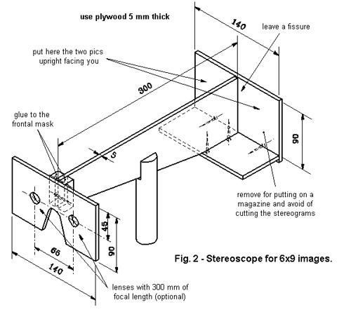 What is a stereoscope and how can it be used to take 3-dimensional pictures?