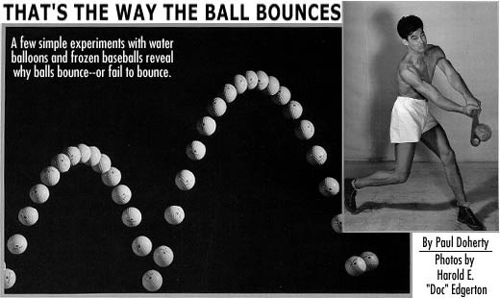 Compare how different types of balls bounce and determine what are the factors that contribute t ...