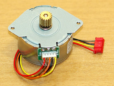 Controlling Stepper Motor with a Parallel Port