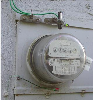 Electric meter reader