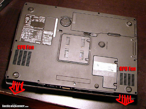 110CFM Laptop Cooler