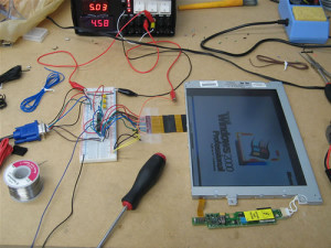 Laptop LCD to VGA Interface