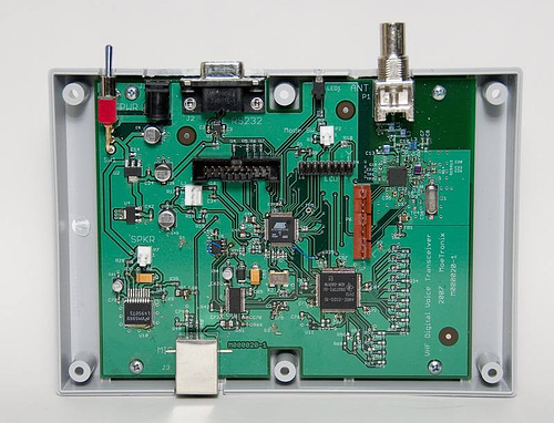 Digital Voice Transceiver Project