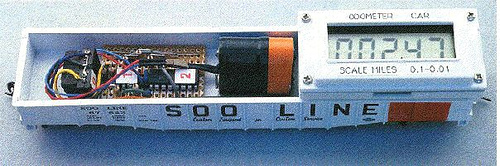 Model Railroad Odometer Car
