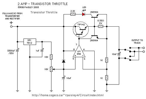Various Transistor Throttles