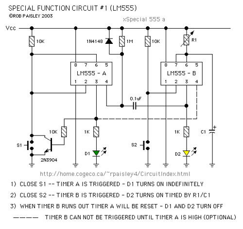 Special Function Timer Circuits (LM555)