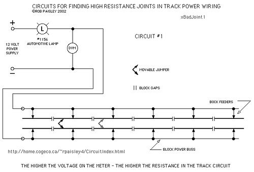 Finding Bad Joints In Track Wiring