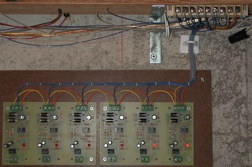 Grouped DCC Block Occupancy Detectors