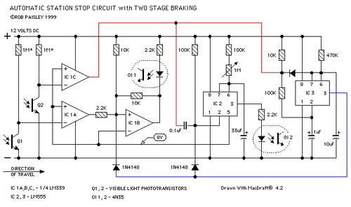 Automatic Station Stop Circuit