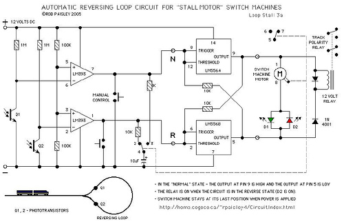 Automatic Reverse Loop Circuit