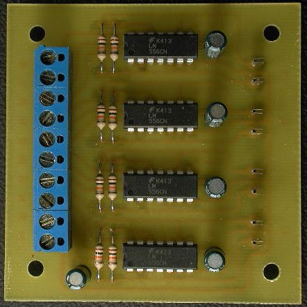 556 Timer Stall-Motor Switch Machine Drivers