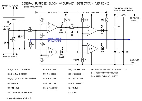 General Purpose Block Occupancy Detector