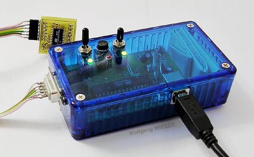 USB-AtmelPrg: Wolfgang Unisversal Interface Cable