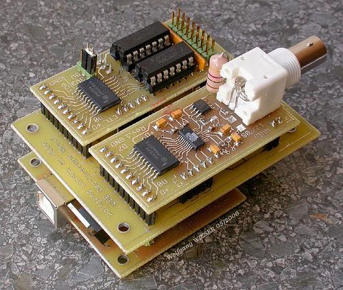 USB Live Oscilloscope