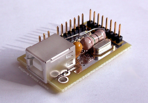USB 8bit Interface Board