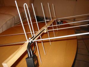 Homebrew Satellite Antenna