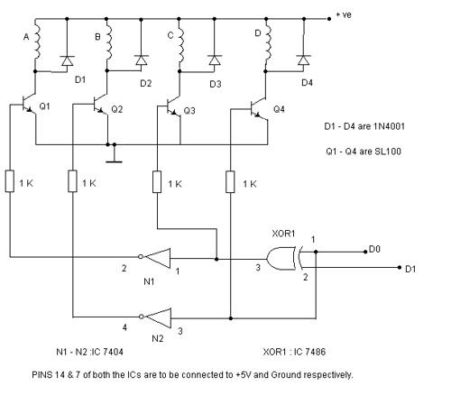Super simple stepper motor controller